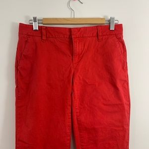 Tommy Hilfiger red pants size 4